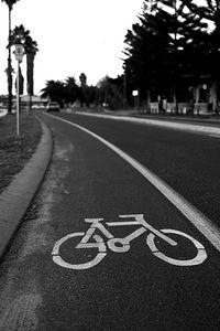 Carriles para ciclistas