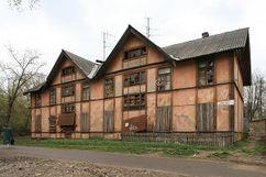 L:Viviendas en el primer asentamiento obrero, Ivanovo (1924-1926)