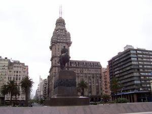 Palacio Salvo, Montevideo, Uruguay.