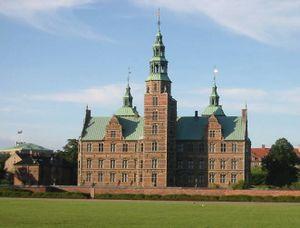 El castillo-palacio de Rosenborg.