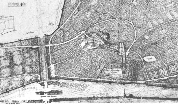 Propuesta para el concurso, 1915