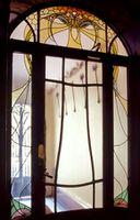 Hector Guimard - El pasillo de entrada del edificio Jassedé - 1903
