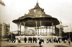 Quiosco de música de Rosales, Madrid (1922-1923)