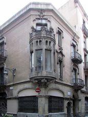 Casa Agustín Valentín, Barcelona (1906-1907)