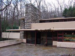 Frank Lloyd Wright - Fallingwater exterior 10.JPG