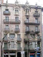 Casas Leandro Bou, Barcelona (1905-1907)