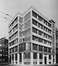 Sede Daily Worker, Farringdon Road, Clerkenwell (1946)
