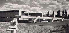 Zona de baños en Bachgraben, Basilea (1961-1962)