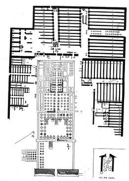 Ramesseum plan by James E. Quibell.jpg