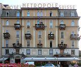 Hotel Metropole Suisse. Reestructuración de la fachada, Como (1926-1927)
