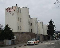 André Lurçat: Casas 25 a 28. Veitigergasse 87 - 93