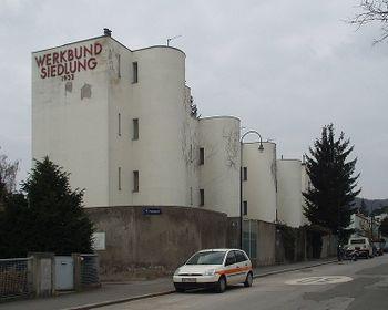 Andre Lurcat, 1931-1932, A1130 Wien, Veitingergasse 87-93, Werkbundsieldung.jpg
