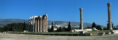 Panorámica del Templo de Zeus