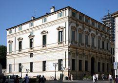 Palacio Thiene Bonin Longare, Vicenza (1572; 1586-1610), construido por Vincenzo Scamozzi