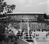 United States Pavilion Expo 1958 Bruselas,  Bélgica  (1957)