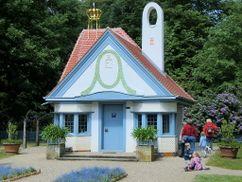 Prinzessinenhaus, Parque de Jagdschlosses Wolfsgarten, Langen (1902)