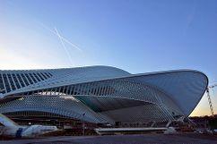 Estación ferroviaria Liège-Guillemins, Lieja, Bélgica. (1996-2007)