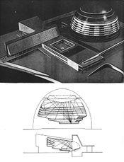Proyecto para Palacio del Soviet, Moscú (1931-1932)