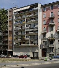 Casa Ponti, Milán (1957)