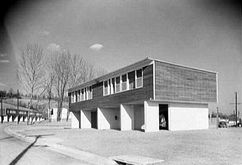 Complejo residencial Carver Court, Coatesville (19401-1943) junto con Oskar Stonorov y George Howe.