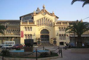 Antiguo mercado público de La Unión, obra de Víctor Beltrí de 1901