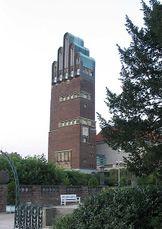 Torre del matrimonio,  Mathildenhöhe, Darmstadt (Alemania) (1905-1907)