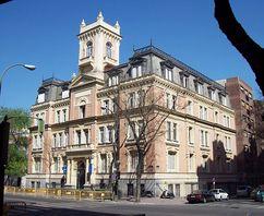 Instituto Boston (hoy International Institute), Madrid (1906-1908)