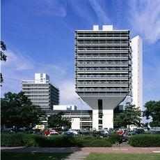Oficinas Olivetti, Francfurt (1968-1972)