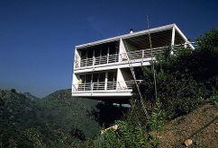 Casa Gantert, 6431 La Punta, Los Angeles (Hollywod Hills) (1983)
