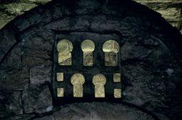 Detalle de la arquería del iconostasio
