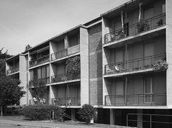 Grupo de viviendas en Distrito Monterosso, Bérgamo (1958-1965)
