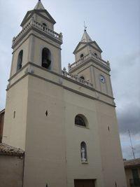 Iglesia parroquial de San José, en Algueña