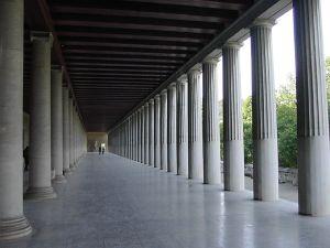 Stoa en Atenas