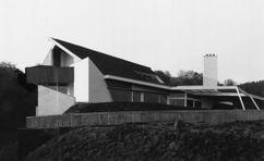 Casa Prawitz, Gelnhausen (1964-1965), junto con Hermann Fehling