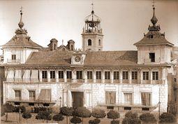 La antigua Casa Consistorial de Valladolid, obra de Juan Sanz de Escalante, Francisco de Salamanca y Juan de Herrer]]