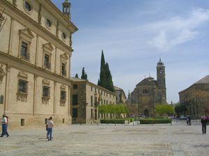 Vista de la plaza