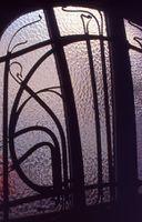 Hector Guimard - Hierro forjado sobre la puerta de la casa Coilliot - 1898