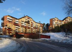 Zona residencial Myrstuguberget, Vårby (1977-1985)