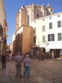 Ábside de la Catedral de Santa María de Ciudadela.