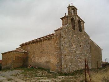 Vista de la iglesia.