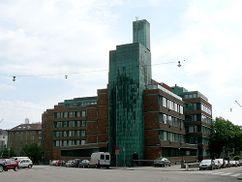 Instituto Nacional de Pensiones de Finlandia, Helsinki (1954-1957)