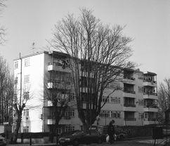Apartamentos para trabajadores Sassoon, Peckham (1934)