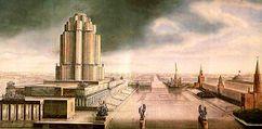 L+V+A:Boceto para el concurso Narkomtiazhprom (1934)