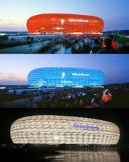 Allianz Arena,  Múnich-Fröttmaning; (2002–2005)
