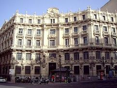 Sede del banco de Santander, Madrid (1902-1905)