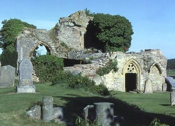 Ruinas de la Abadía de Kinloss (Escocia)