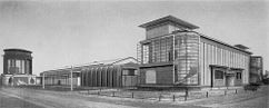 Fábrica experimental en la Werkbund de Colonia (1914)