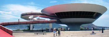 Museo de Arte Contemporáneo de Río de Janeiro en la ciudad de Niterói