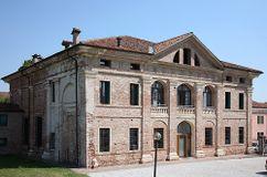 Villa Thiene, Quinto Vicentino (1542-1550)