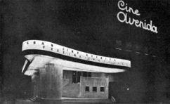 Cine Avenida, San Luis de Potosí (1948), junto con Eduardo Robles Piquer
